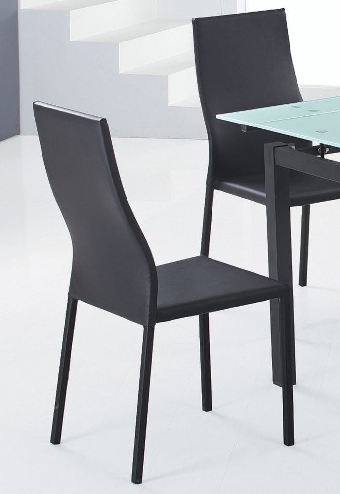 Versa-Set Of 4 - Side Chair-Black