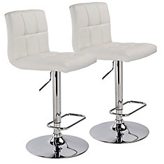 Worldwide Homefurnishings Inc Max Leather Metal Chrome
