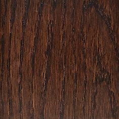 Échantillon - Plancher, bois massif, chêne brun Barista