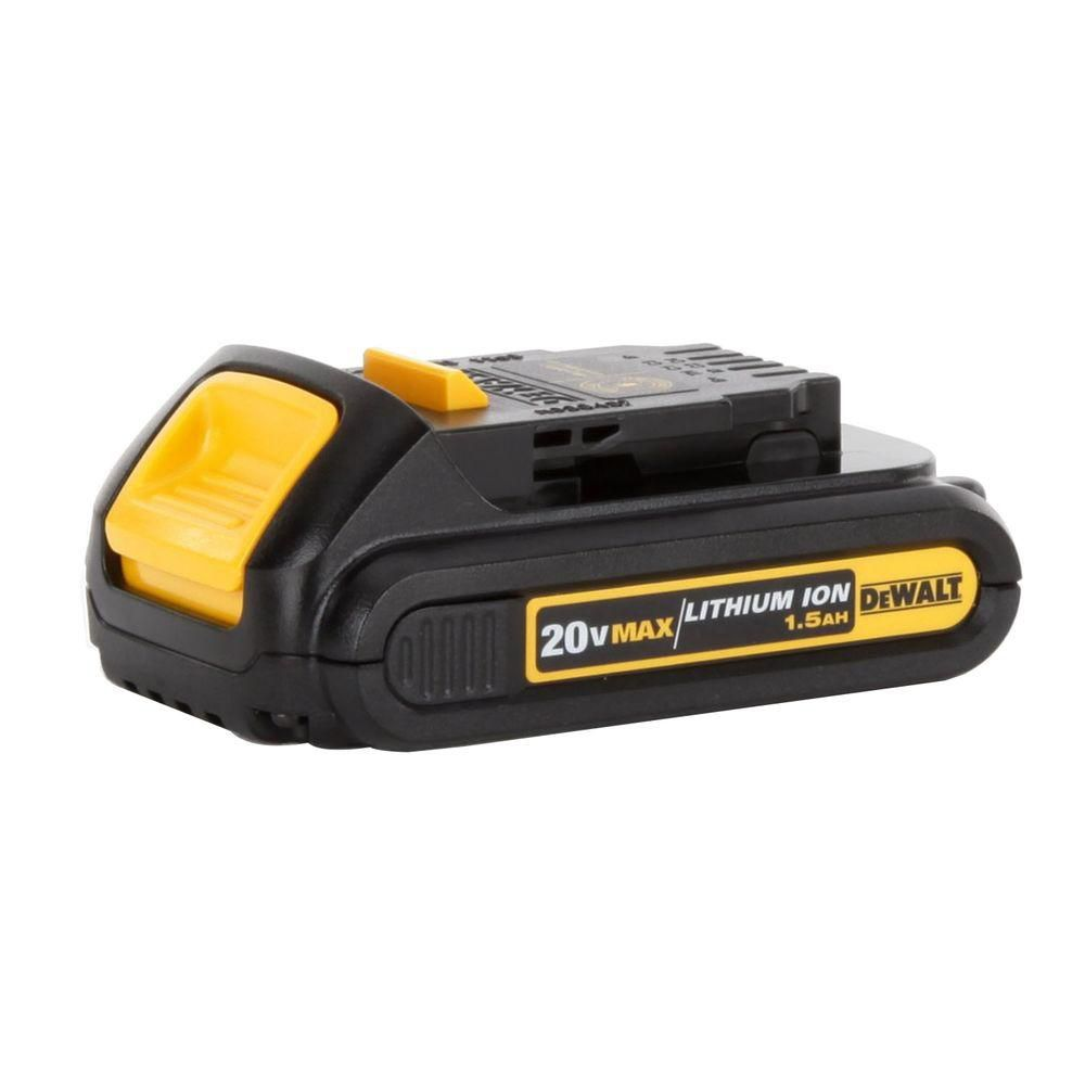 DEWALT 20V MAX 1.5 Ah Lithium-lon Battery Pack