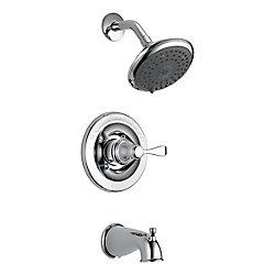Delta Porter Monitor 14 Series 3-Spray Tub  Shower Faucet in Chrome