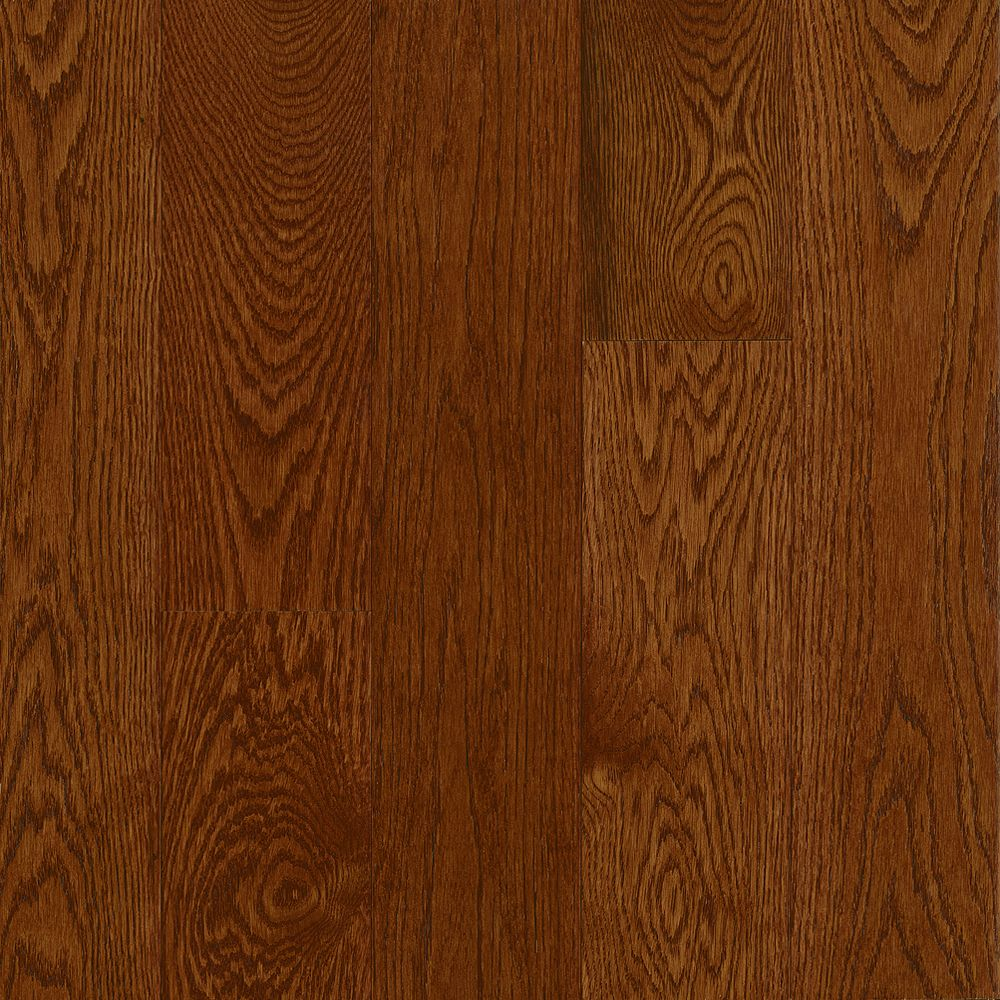 2-1/4 Inch  x  3/4 Inch AO Oak Deep Russet Solid Wood Floor  - (20 Sq.Ft./Case)