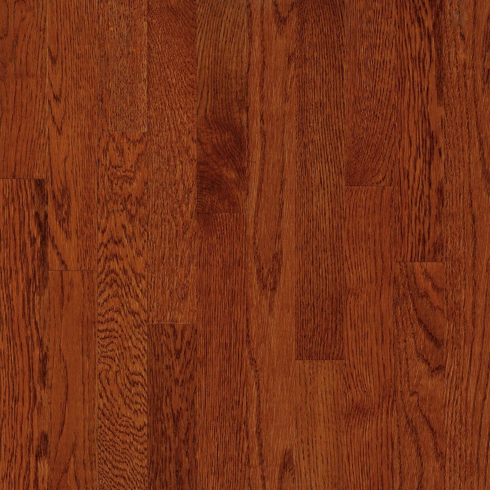 2-1/4 Inch  x  3/4 Inch AO Oak Ginger Snap Solid Wood Floor  - (20 Sq.Ft./Case)