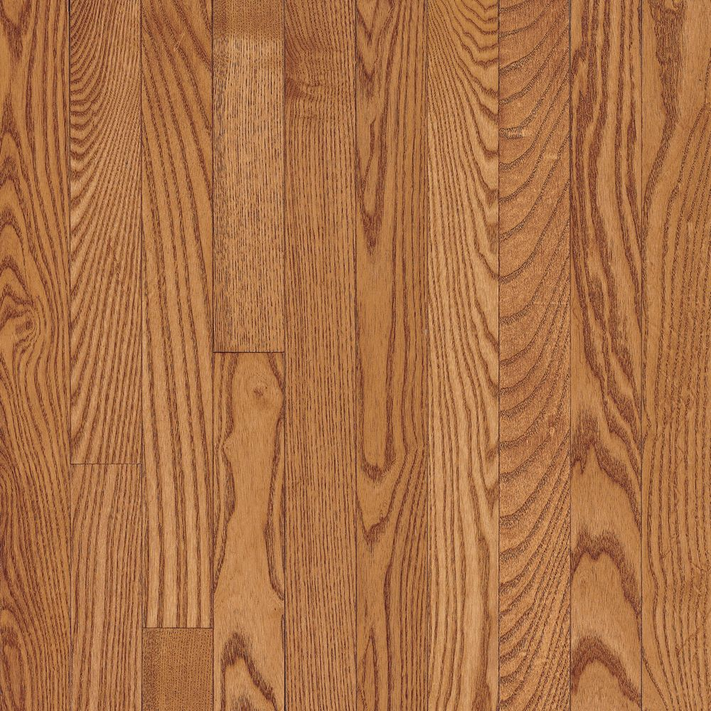 2 1 4 inch x 3 4 inch ao oak copper light solid wood floor for Hardwood flooring 4 inch