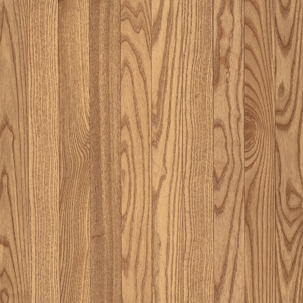 3-1/4 Inch  x  3/4 Inch AO Oak Natural Solid Wood Floor  - (22 Sq.Ft./Case)