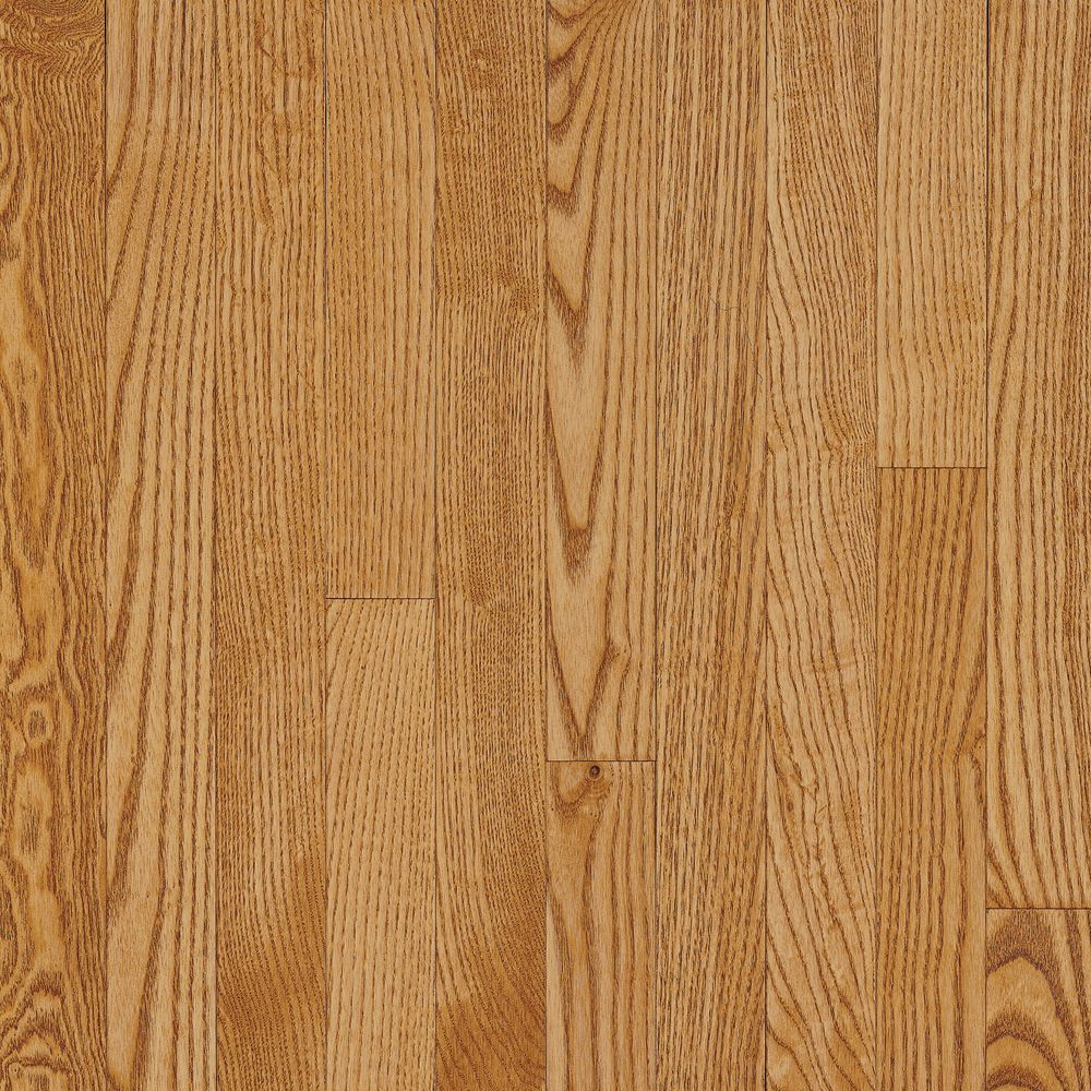 Bruce 3 1 4 inch x 3 4 inch ao oak spice tan solid wood for Hardwood flooring 4 inch