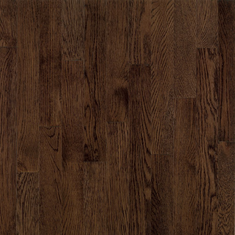 AO Oak Barista Brown 3/4-inch Thick x 3 1/4-inch W Hardwood Flooring (22 sq. ft. / case)