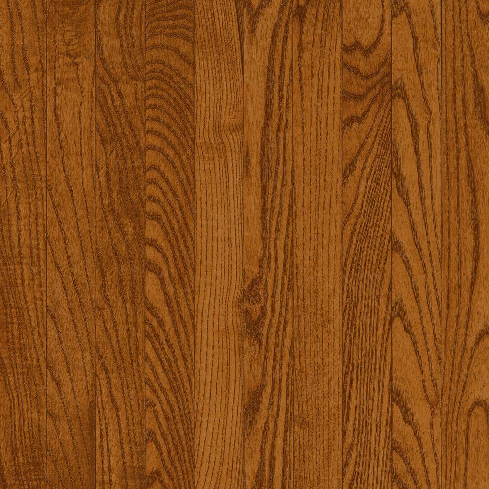 3-1/4 Inch  x  3/4 InchAO Oak Copper Dark Solid Wood Floor  - (22 Sq.Ft./Case)