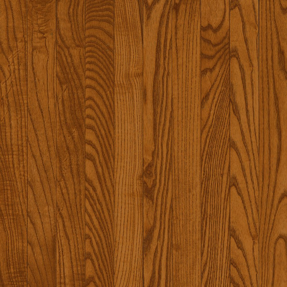 Bruce 3 4 inch thick x 5 inch w ao oak copper dark 23 for Dark solid hardwood floors