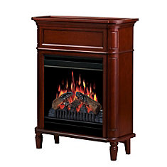 Foyer Fireplace - Cherry