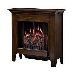 Pod Fireplace Bristol - Burnished Walnut