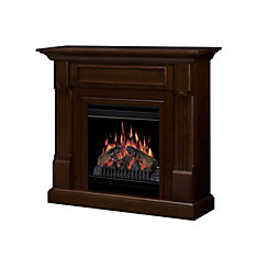 Knock Down Compact Fireplace - Mocha