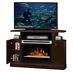 Fireplace Kit, Corner Entertainment Mocha, Fireplace 6905390500