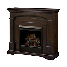 Niagara Intermediate Fireplace - Mocha