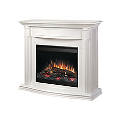 Addison Full Size Fireplace - White