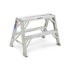 Werner Support de travail portable en aluminium de 0,61 m, classe 1A (capacité de charge 136 kg)