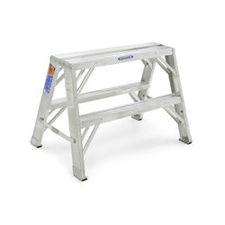Werner Aluminum Portable Work Stand Grade 1A (300# Load Capacity) - 2 Feet