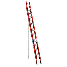 fibreglass Extension Ladder Grade 1A (300 lb. Load Capacity) - 32 Feet