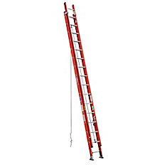 Fiberglass Extension Ladder Grade 1A (300# Load Capacity) - 32 Feet