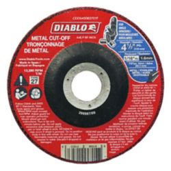 Diablo 4-1/2 x1/16 in. Metal DC Cut Off Disc Type 27