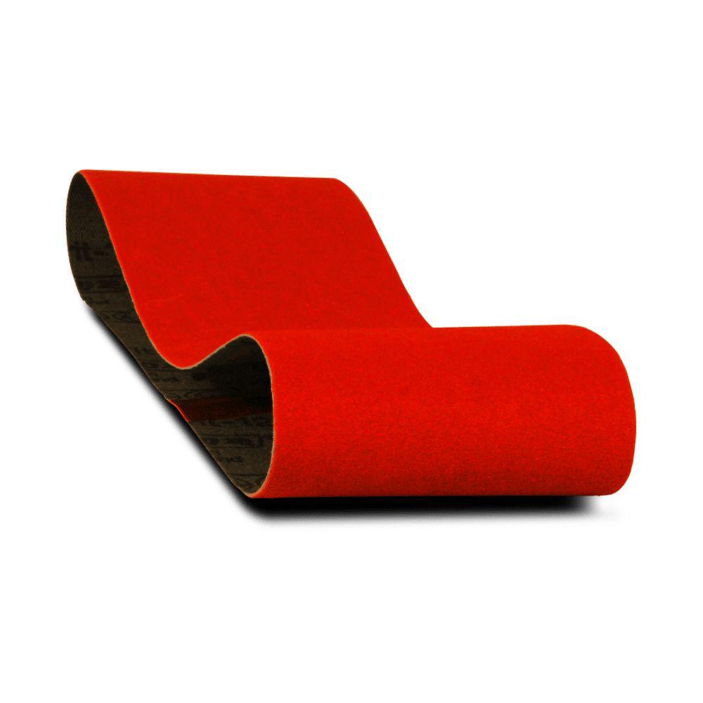 Premium Sanding Belt 3x21 Inch 80 Grit