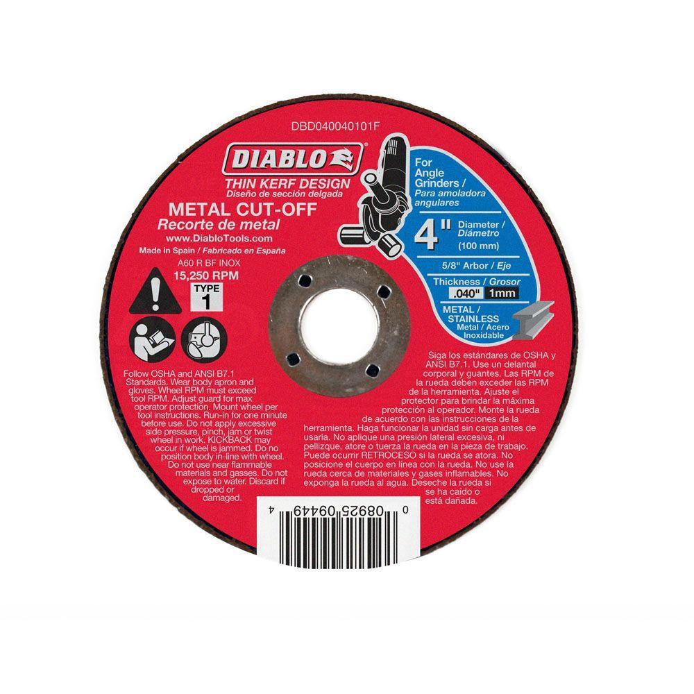 Thin Kerf Cut-Off Disc