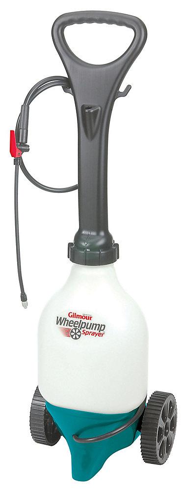 Vaporisateur à pompe sur roues
