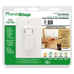 Dewstop Dew Stop, Humidity Sensing Fan Switch
