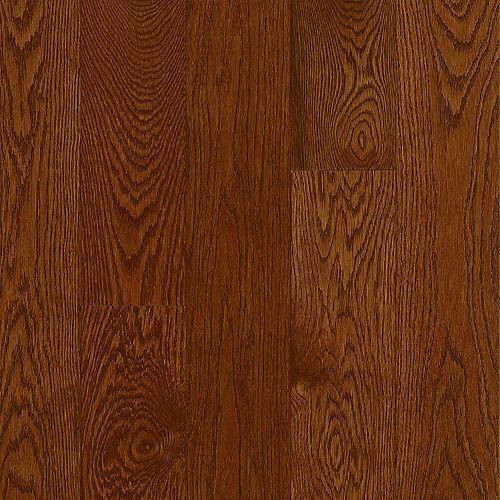 Bruce AO Oak Deep Russet 5/16-inch Thick x 2 1/4-inch W Hardwood Flooring (40 sq. ft. / case)