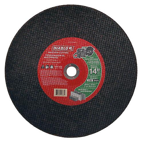 Masonry High-Speed Cut-Off Disc 14 x 1/8 x 1