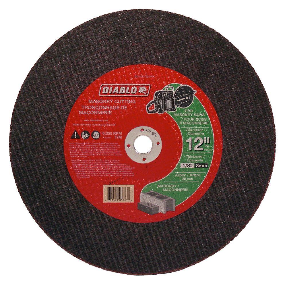 Masonry High Speed Cut Off Disc CDD120125G01C Canada Discount