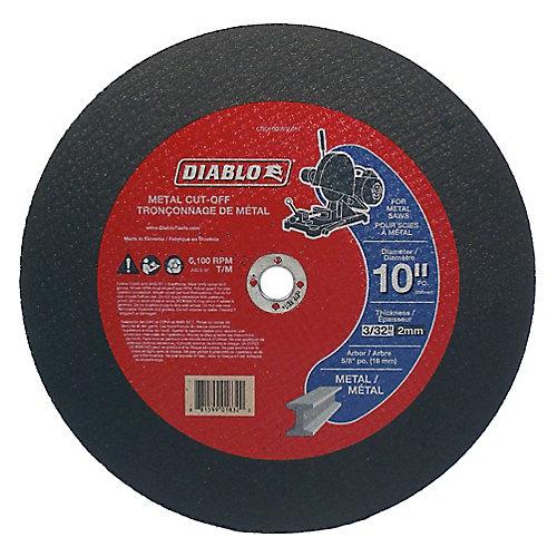 10 x 3/32 in.  Metal Cut Off Disc