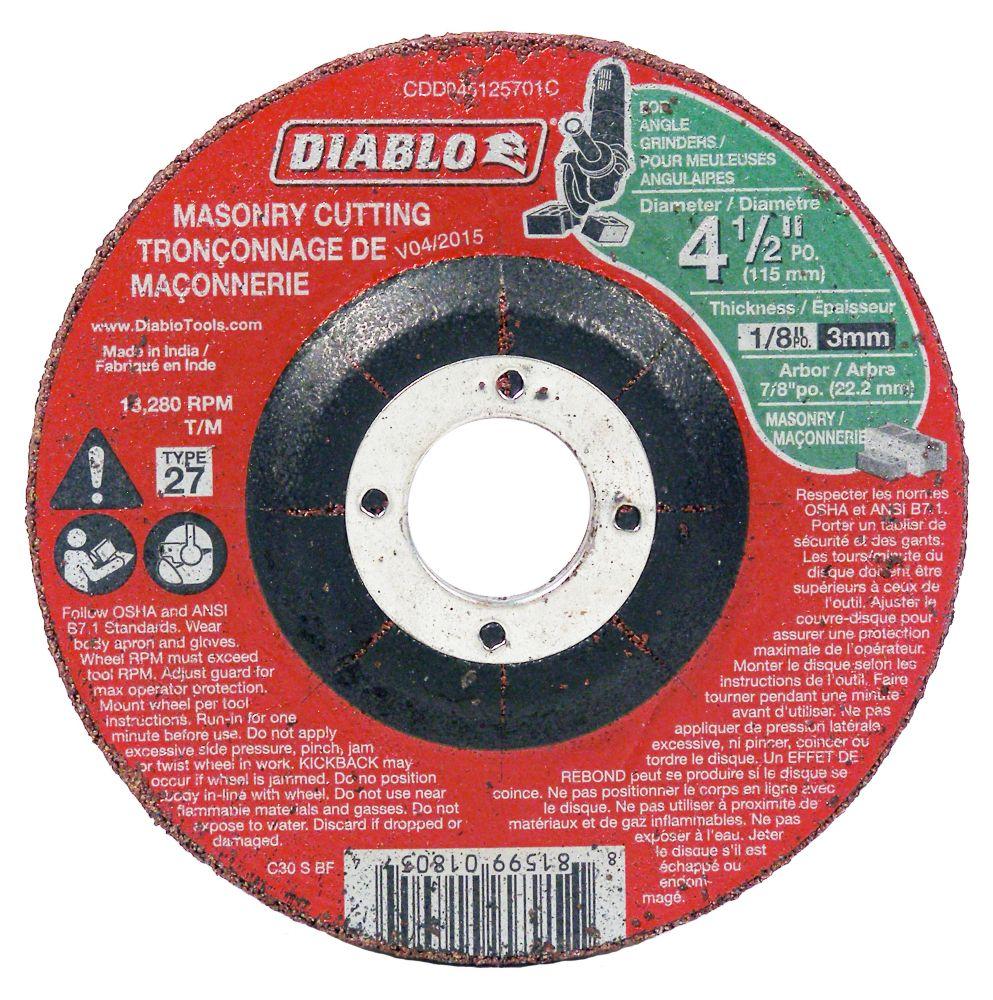 Masonry Cut-Off Disc