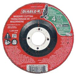 Diablo 4-1/2 x 1/8 in. Masonry DC Cut-Off Disc Type 27