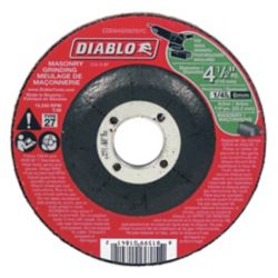 Diablo 4-1/2 in. Masonry Grinding Disc Type 27