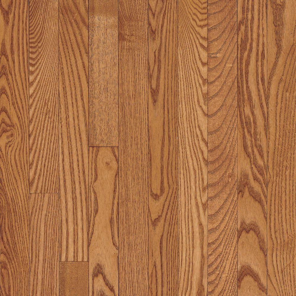 C/S 5,7x 0,8cm Plancher AO en bois massif chêne Copper Light - (40 pi. carré par caisse)