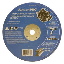 Avanti Pro 7 x 1/8 Metal Cut-Off Disc