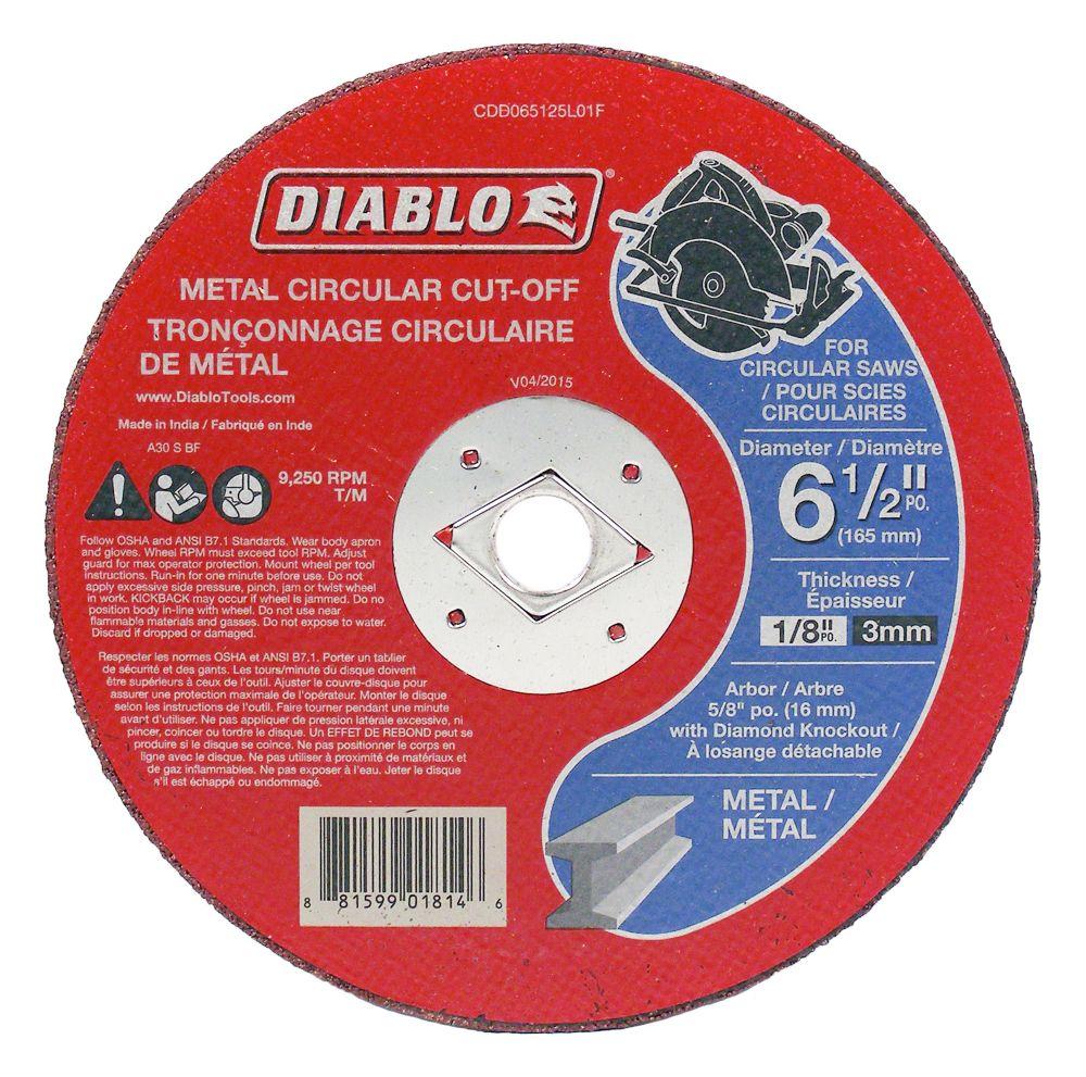 Diablo Circular Cut-Off Disc for Metal