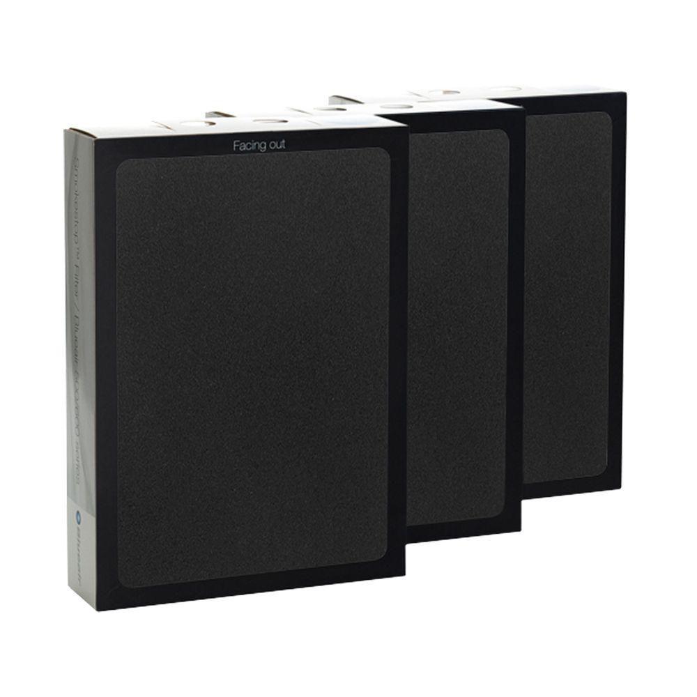 Blueair Classic Replacement Filter 500/600 Series Genuine SmokeStop Filter, Allergen, Odor
