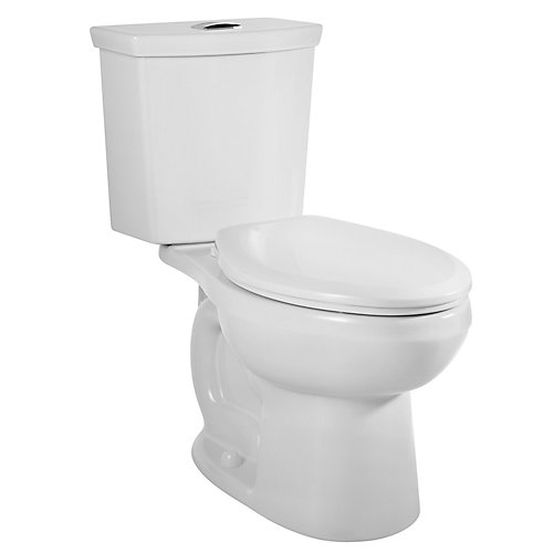Toilette allongée à double chasse d'eau Cadet 3 Right Height, chasse de 3,4 L ou 6 L
