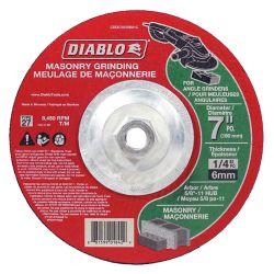 Diablo 7 x 1/4 Masonry Grinding Disc Type 27