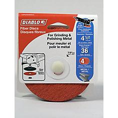 Aluminum Oxide Fiber Disc 4-1/2 in. (36 Grit)