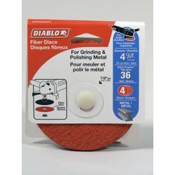 Diablo Aluminum Oxide Fiber Disc 4-1/2 in. (36 Grit)