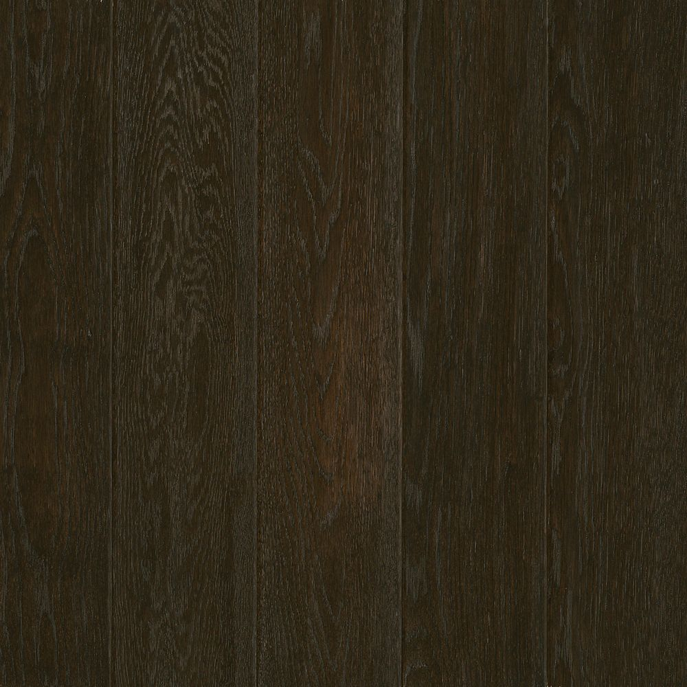 C/S 12,7x 1,9cm Plancher AV en bois massif raclé chêne Flint - (23,5 pi. carré par caisse)