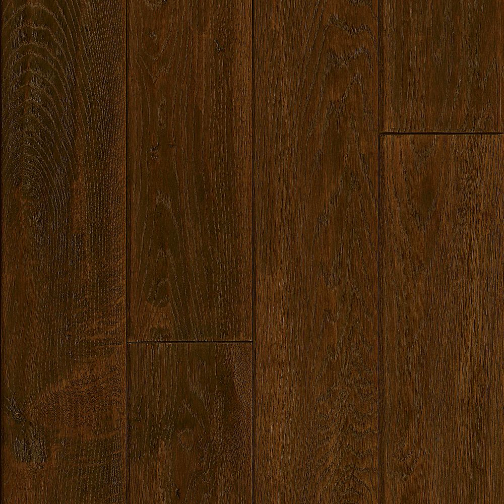 "Bruce 5"" X 3/4"" Hickory Forrested Hill Handscraped Solid Wood Floor (23.5 sq. ft./case)"