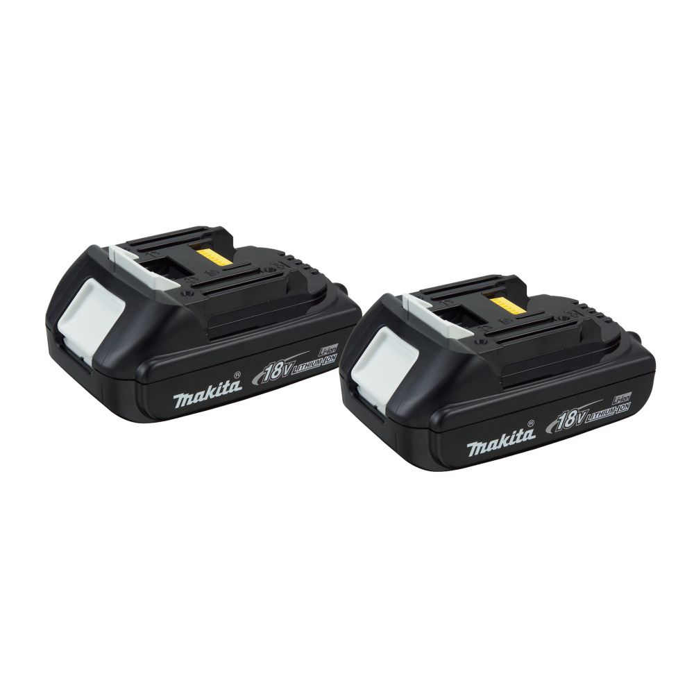 Makita 18v lithium ion battery compact twin pack the home depot canada - Batterie makita 18v ...