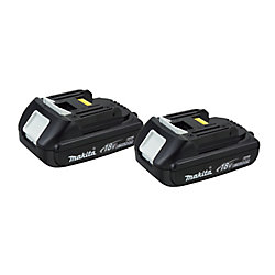 MAKITA 18V Lithium-Ion Battery Compact (2-Pack)