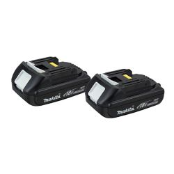 MAKITA 18V Lithium-Ion Battery Compact (2-Pack)