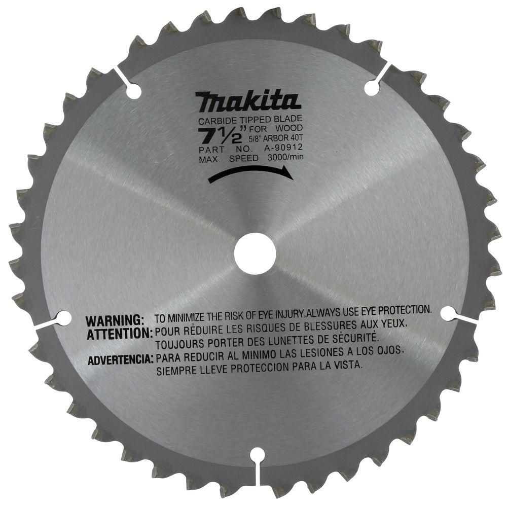 "7 1/2"" Mitre Saw Blade 40CT"