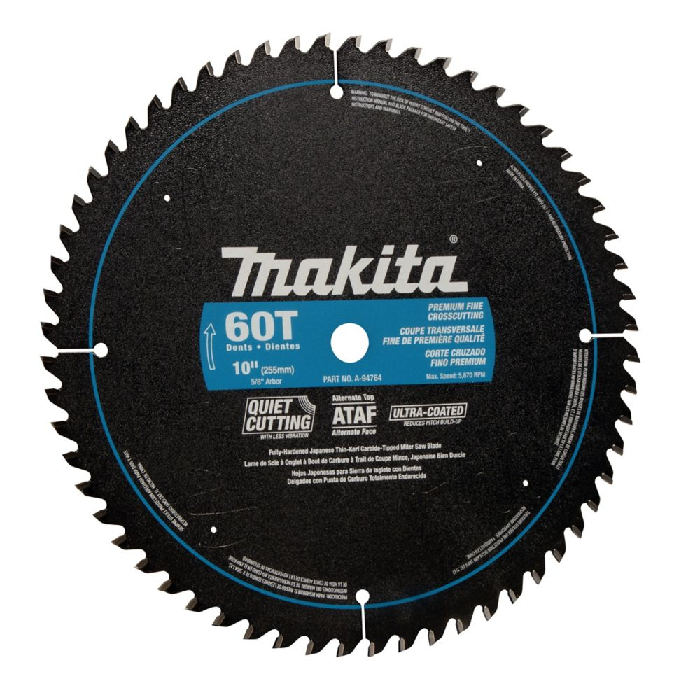 """10"""" x 60T CT Smooth Cut Mitre Saw Blade"""